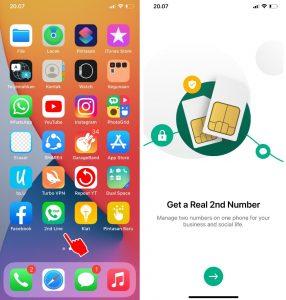 Cara Buat Nomor Luar Negeri Negara Lain di iPhone 2