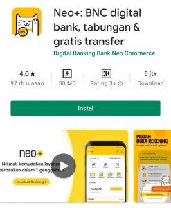 Cara Memakai Aplikasi Neo+ BNC Digital Bank di HP Android 1