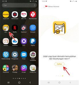 Cara Memakai Aplikasi Neo+ BNC Digital Bank di HP Android 2