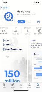 Cara Menggunakan Aplikasi Get Contact di Perangkat iphone (iOS) 1